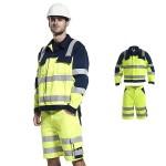 Warnschutzkleidung - Bundjacke und Shorts