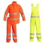 Regenschutz - Jacke, Hose und Latzhose