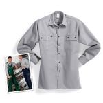 Handwerk und Industrie - Langarmhemd