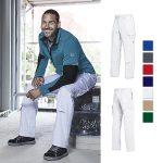 Arbeitshose Basic, 100% Baumwolle. Mit Gummizug im Rücken und Kniepolstertaschen