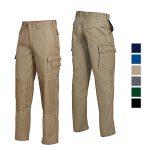 Arbeitshose Cotton Plus, Jeansform mit Kniepolstertaschen