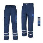 Arbeitshose Top Worker, mit Reflexstreifen, optional mit Kniepolstertaschen