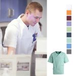 Unisex Schlupfkasack mit V-Ausschnitt, in vielen Farben