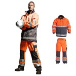 Warnschutzkleidung - Jacke und Bundhose