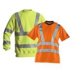 Warnschutzkleidung - Sweat- und T-Shirt